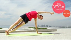 vinyasa upper back and shoulders  yoga videos  grokker