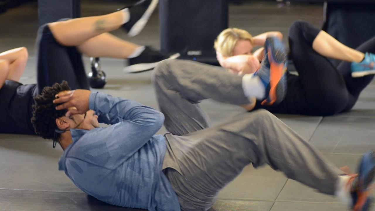 Henrik Zetterberg Workout