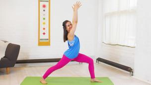 yoga for beginners standing poses  yoga videos  grokker